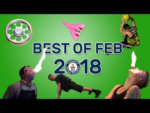Best of February 2018 - Guinness World Records