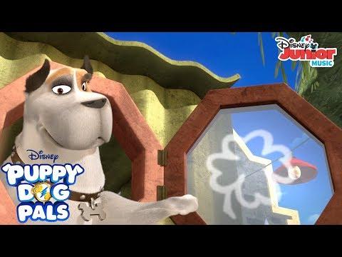 Four Leaf Clover   Music Video   Puppy Dog Pals   Disney Junior