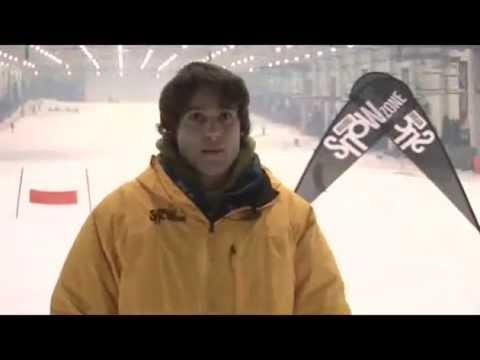 Posicion base en el snowboard. Tutorial snowboard