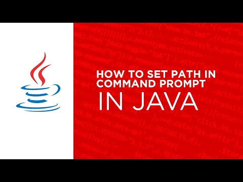 how to set path in command prompt