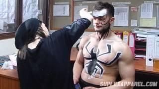 WWE Finn Bálor aka Prince Devitt - War Paint Time Lapse