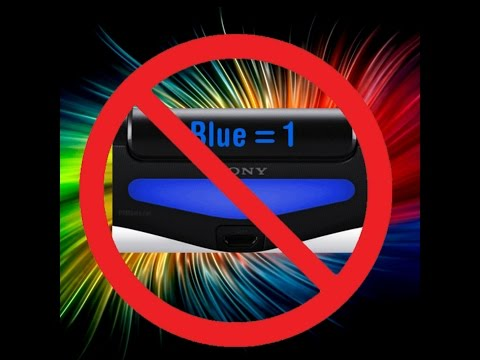 How to change the color of the ps4 controller light bar.