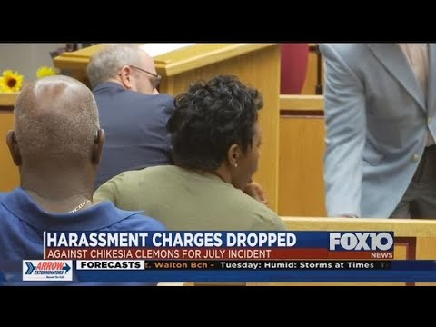 Prior Harassment Charges dismissed against Chikesia Clemons