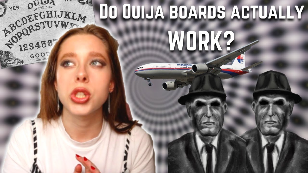 Conspiracies that keep me up at night: Ouija boards, MIB, and Flight MH370