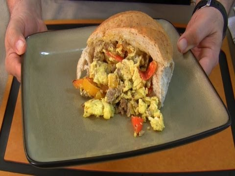 Sausage, Peppers & Eggs - My mom is great series
