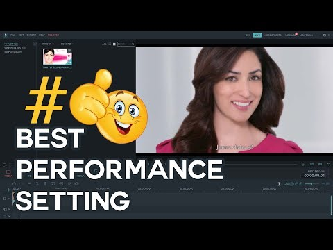 Filmora Setting For Best Performance | Best Video Editing Software For Beginners