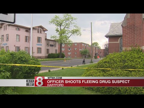 Officer shoots fleeing drug suspect