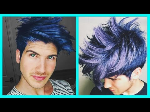DYING MY HAIR BLUE!
