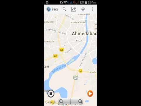 How to post fake location in facebook and what's app