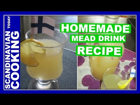 How To Make Sima (mead) 🍸 A Finnish sweet bubbly lemonade drink for May Day celebrations