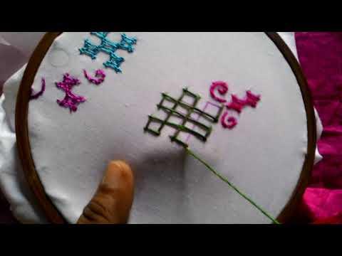 7.Sindhi embroidery ,sindhi tanka,kutch work,gujrati stitch.