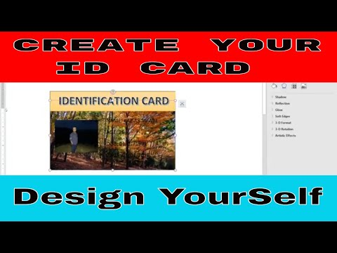 How to Create an ID Card using MS WORD