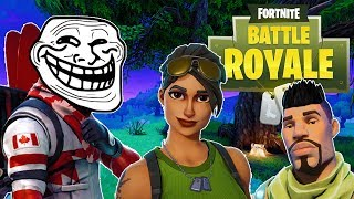 FORTNITE TROLLING TEAMMATES - Funny Fortnite Moments