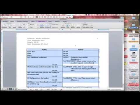 Reset Margins & Finishing Formatting Table MS Word