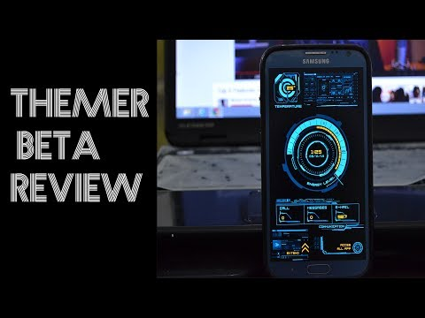 How To Theme Your Android Phone? Themer Beta review! 2014