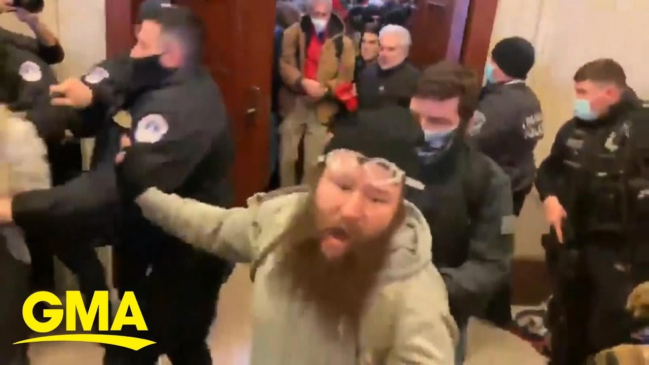 Legal consequences for rioters who breached US Capitol, Trump l GMA