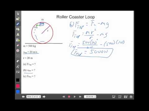 Vertical Circular Motion Lecture