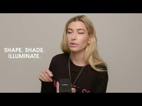 Hailey Baldwin for ModelCo: The Filter Contour & Glow