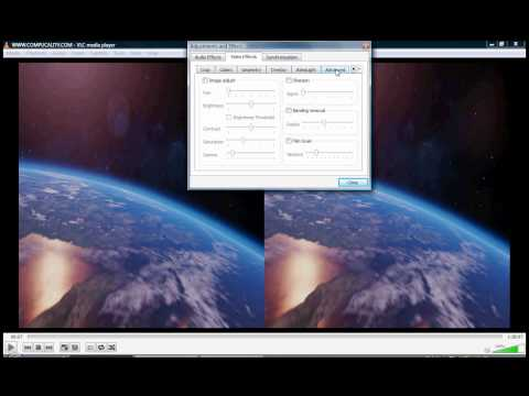 How to watch 3D (SBS) movies in VLC Media Player