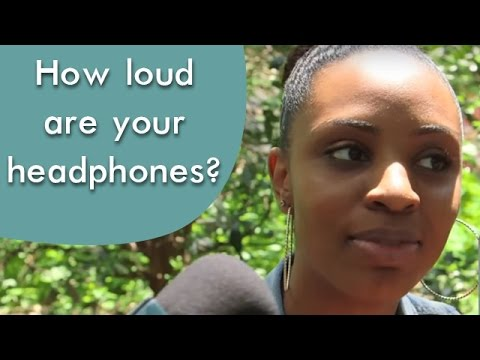 Are your headphones also too loud?