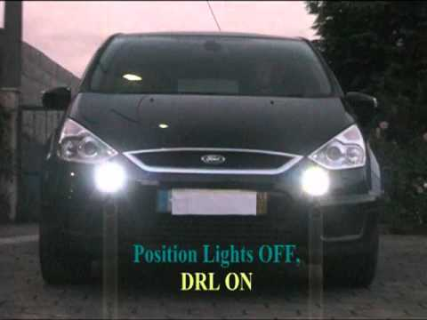 Ford S-Max DRL in Front Fog Lights