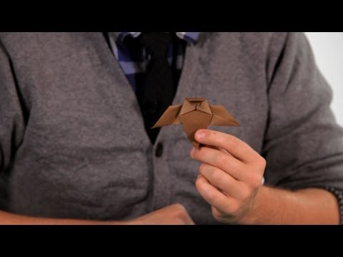 How to Make an Owl | Origami