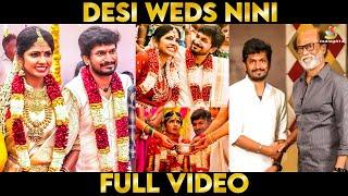 Video: Niranjani ❤️ Desingh Periyasamy Dream Wedding Moments | kannum kannum kollaiyadithaal, Rajini