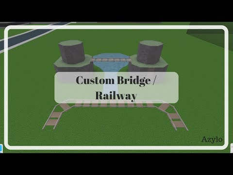 Roblox | Bloxburg: Custom Bridge / Railway Tutorial