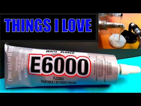 What is E6000 industrial adhesive glue used for?  - pros, cons, uses, instructions,  drying times