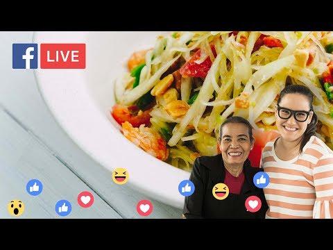 Thai 'Som Tum' Papaya Salad at home - Marion's Kitchen