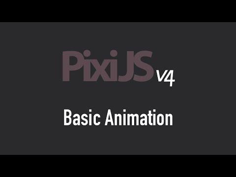 Basic Animation in Pixi.js