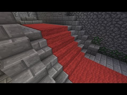 Minecraft: Carpeted Stairs