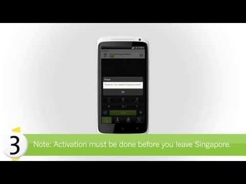 StarHub How-to's: How to activate international roaming for prepaid mobile