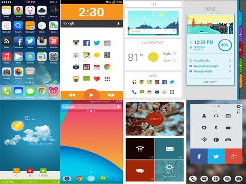 Top 10 Beautiful Android Home Screen for You