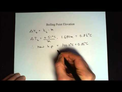 Colligative Properties calculate all of them! Worked out problem(s).
