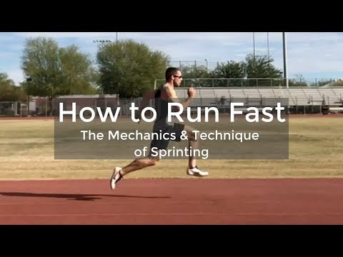 How To Run Faster - Sprinting Technique Tutorial - ATHLETE.X