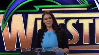 WrestleMania 2018 News Conference - Jan. 10, 2017