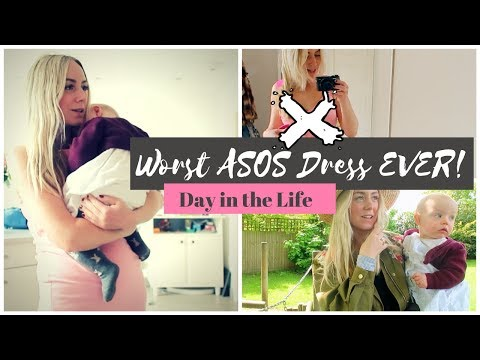 Trying Baby Signing & Worst ASOS Dress EVER!! Day in the Life of A Mum | SJ STRUM
