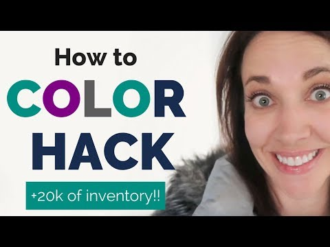 How to Color Hack!  Find The Perfect Colors For Your Brand | Alison J Prince 0-100k System