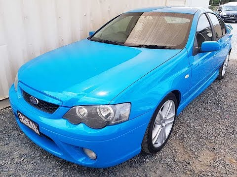 (SOLD) Ford Falcon XR6 Turbo 6 Speed Super Powerful 2007 Review