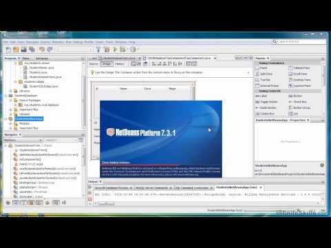 Java Database Programming Tutorial | Creating A NetBeans Platform App