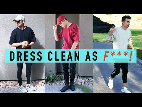 HOW TO DRESS CLEAN AF!! + 2017 Fashion (Style Tips)
