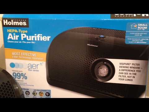 Review of Holmes Hepa-Type Air Purifier