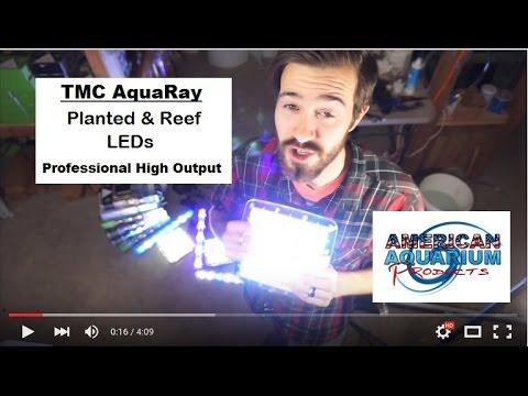 Patented Planted & Reef Professional LEDs- TMC AquaRay