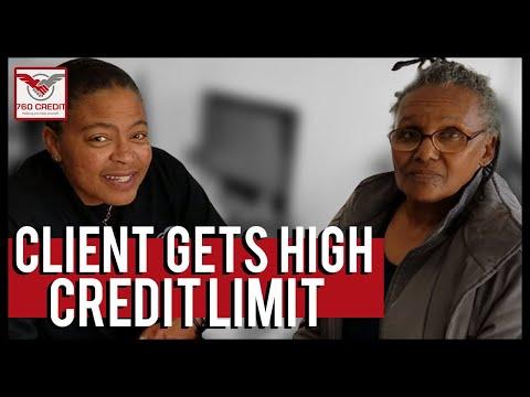 Client Gets High Credit Limit