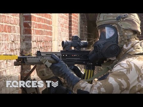 How The Royal Marines Deal With A Chemical Attack | Forces TV