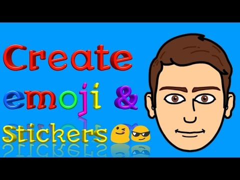 How to create your own Emoji and Stickers - Bitmoji App || Bitmoji on Snapchat || Bitmoji in Hindi