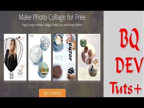 BQ Dev Tuts - How To Desgin Online Collage Maker | Graphic Design | Photo Editor With FotoJet