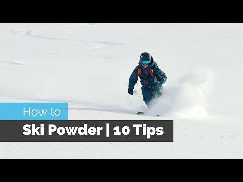 HOW TO SKI POWDER | 10 TIPS