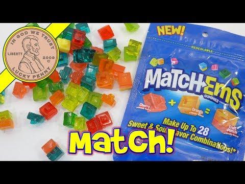 MatchEms Gummies Candy - Mix & Match Up To 28 Flavors